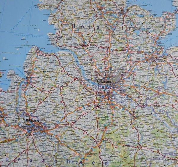 mapa holandii samochodowa
